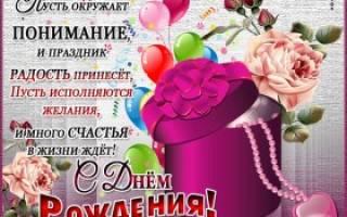 Поздравления с днем рождения в картинках