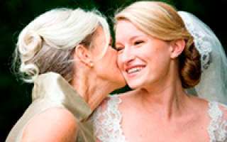 Поздравления на свадьбу от тещи (от мамы невесты)