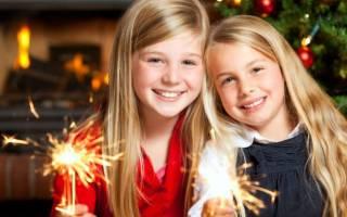 Стихи на Новый год для детей 3-4 класса