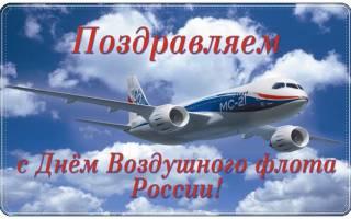 Поздравления на День дальней авиации 2020 в прозе