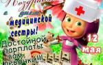 Поздравления медицинской сестре