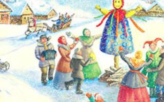 Короткие стихи на Масленицу для детей