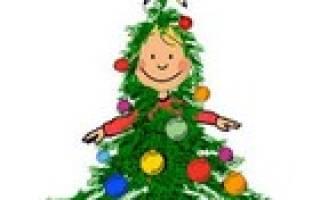 Короткие новогодние стихи для детей 8-9 лет