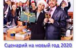 Сценарий новогоднего корпоратива