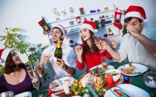 Веселые и прикольные конкурсы на Новый год за столом
