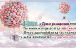 Поздравления с днем рождения Инне