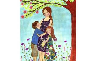 Детское поздравление с Днем матери в стихах