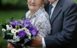 Прикольные поздравления с 65 годовщиной свадьбы