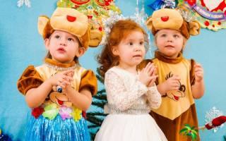 Стихи с Новым годом для детей 2-3 лет