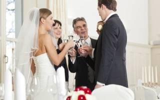 Тосты на свадьбу благодарность родителям