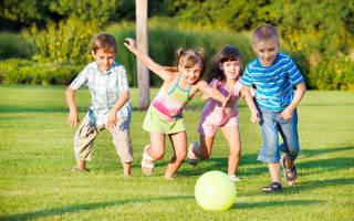 Конкурсы для детей на улице летом