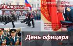 Поздравления на День офицера России 2020 в прозе