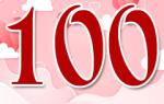 Стихи на день рождения 100 лет