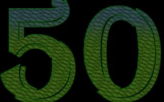 Прикольные поздравления на 50 лет