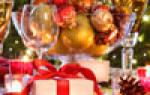 Смс с Новым годом и Рождеством