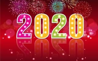 Красивые поздравления с Новым годом женщине 2020