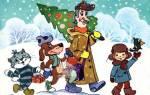 Короткие новогодние стихи для детей 3-4 лет